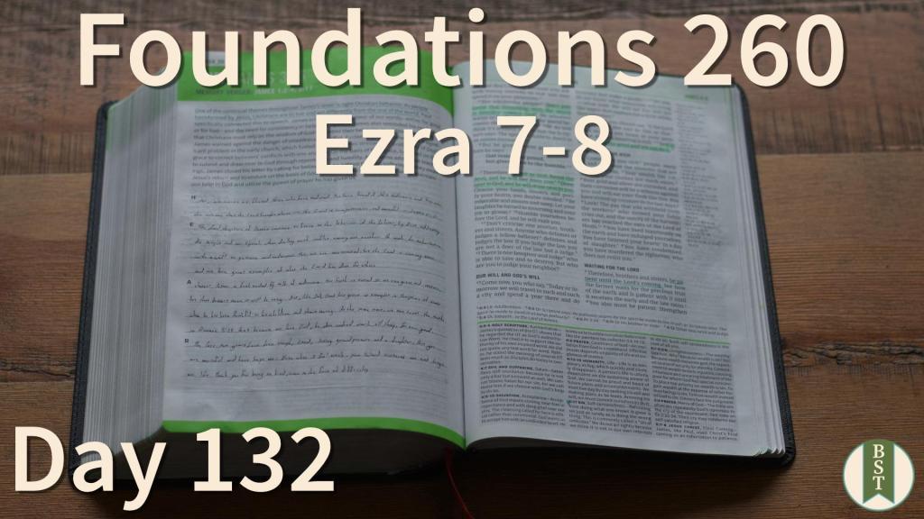 F260 Bible Reading Plan - Day 132