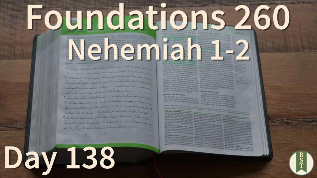 F260 Bible Reading Plan - Day 138