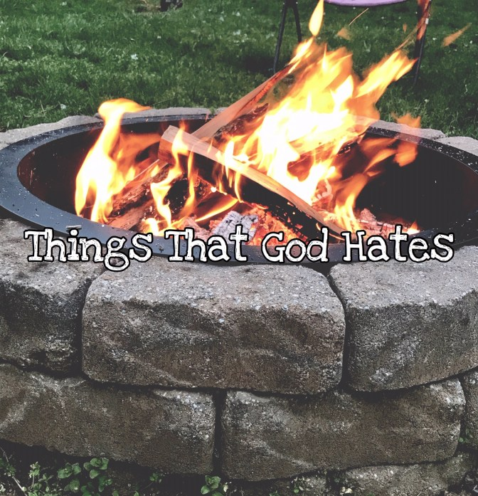 KIDScast#62 Things That God Hates