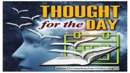 """IN THE BEGINNING WAS THE WORD"" - Thoughts from today's Bible readings - Oct. 10th"