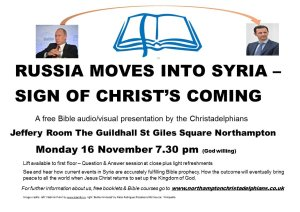 New Video: Russia Moves Into Syria: Sign Of Christ's Return To Earth