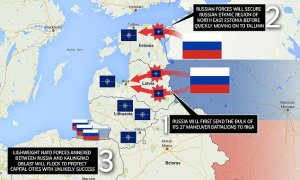 How Putin's Russia could overrun The Baltic states in THREE DAYS: