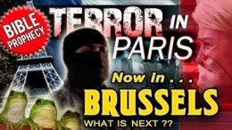 Paris Terror Attacks: Now in Brussels! What is next?