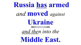 Bible Prophecy demonstrates that Russia will move into the Middle East Next