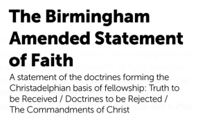 Biblical Doctrines 'REJECTED' By The CHRISTADELPHIAN Community - Pt 31