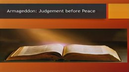 Armageddon: Judgement before Peace - Video