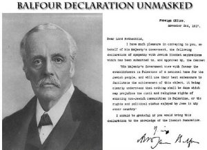 Balfour Declaration the 100th year Anniversary