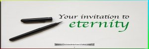 Your invitation to eternity! - Video post