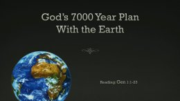 Gods 7000 Year Plan for the Earth Perth Video Post
