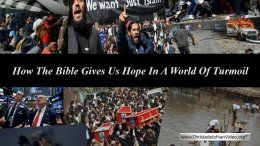 How the Bible Gives Us Hope in a World of Turmoil  Video Post