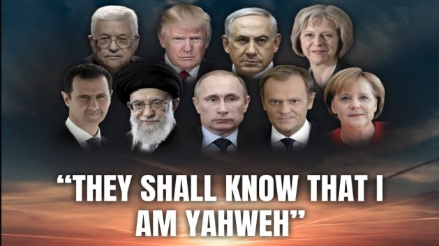 They shall known That I Am Yahweh!