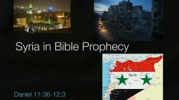 Syria In Bible Prophecy Video Post