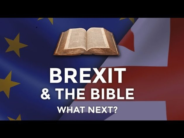 BREXIT & THE BIBLE WHAT - NEXT? 2 Talks given 'Live' at Nottingham Uni