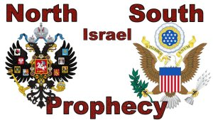 North, South or in Israel Prophecy Fulfilling! The Battle of the two Eagle Powers mp4 Video Post Bible in the News