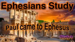 Ephesians 5 pt Video Study
