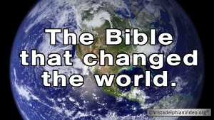 The Bible that changed the world Video post