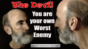 The Devil You Are Your Own Worst Enemy Video Post