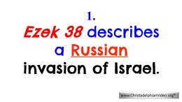1: Ezekiel 38 Describes a Russian Invasion of Israel: End time Bible Prophecy Video post