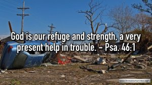 """Thought for January 26th. """"A VERY PRESENT HELP IN TROUBLE"""""""