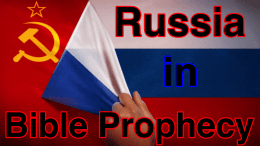 Russia in Bible Prophecy