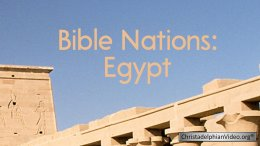 Bible Nations: Egypt
