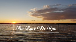 Pause to consider  - The Race We Run