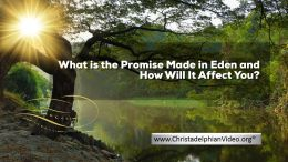 What is the Promise Made in Eden and How Will It Affect You?