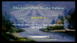 Meeting Jesus - Video series