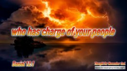 "Daily Readings & Thought for November 2nd.  ""WHO HAS CHARGE OF YOUR PEOPLE"""