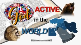 Stop & Think:  Is God.... Active in the World?