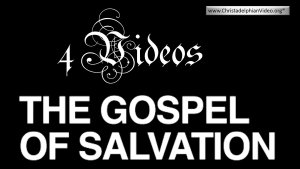 The Gospel Of Salvation- Rugby Youth Weekend 2020 4 Videos