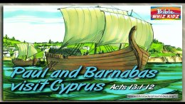 Bible Stories for Children: Paul And Barnabas