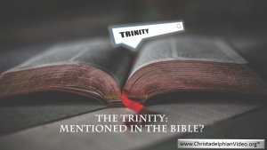 The Trinity: Never Mentioned in the Bible! an Ex-Catholics evaluation.