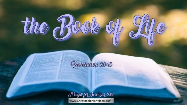 Compilation of Thought for the Day Bible Verses – December 2020