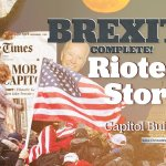 Bible In The News: Brexit is Complete! Rioters Storm US Capitol Building!