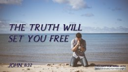 "Daily Readings & Thought for April 16th. ""THE TRUTH WILL SET YOU FREE"""