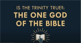 The Gospel Online: Is the Trinity True? #1 'The One God of the Bible'