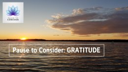 Pause to Consider: Bringing Gratitude to Life