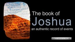 The book of Joshua...  an authentic record of events?