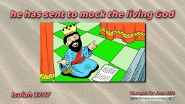 """Daily Readings & Thought for June 13th. """"SENT TO MOCK THE LIVING GOD"""""""