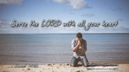 """Daily Readings & Thought for June 30th. """"WITH ALL YOUR HEART"""""""
