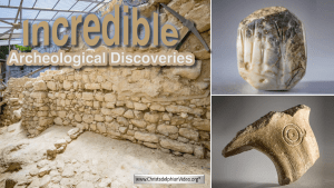 2 Incredible Archeological Discoveries - The Walls of Jerusalem and The Jerubbaal Inscription!