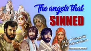 The Angels that Sinned (2 Pet 2 - Jude 6) Who is this referring to?