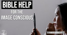 Bible help for the image conscious!