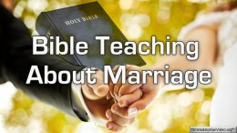 Bible Q&A : What does the Bible says about marriage?