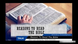 Good Reasons to read the Bible