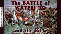 The Battle of Waterloo and the Bible