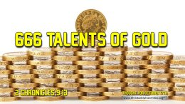 """Daily Readings & Thought for October 18th. """"666 TALENTS OF GOLD"""""""