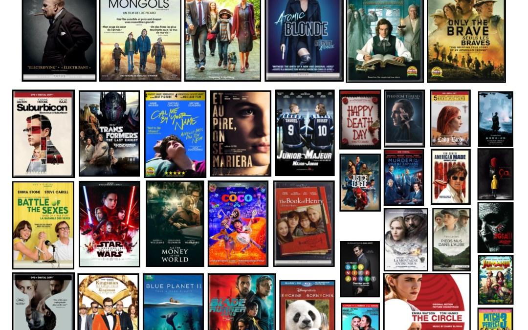 Nouveautés – Films à l'ÉNA – automne 2018
