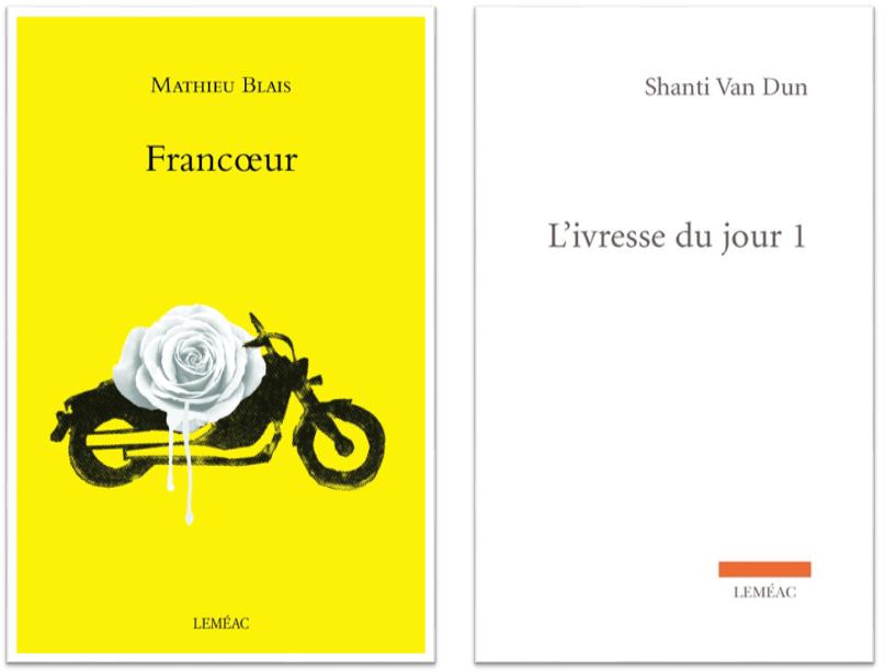 Mathieu Blais et Shanti Van Dun, finalistes au prix Arlette-Cousture 2019